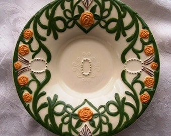 Vintage Pottery Tray Bowl Signed by Artist - Perfect for Jewelry or Bonbons