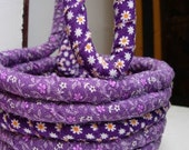 Pretty Purple Basket