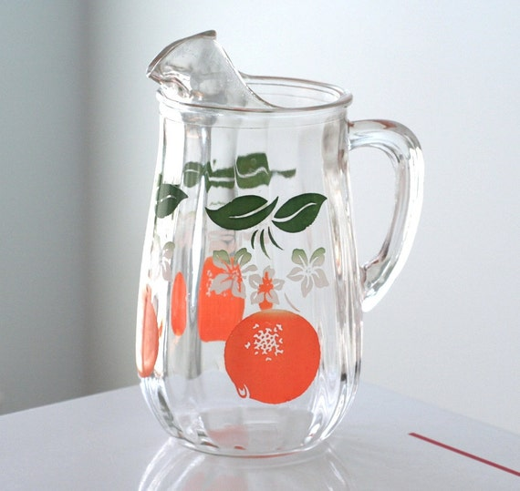 Orange Juice Pitcher