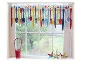 11 more pieces for Jennifer  Colorful Flatware Whimsy Window  Treatment Valance