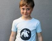 Organic t-shirt The Cartoon Dog named Bob 3 years