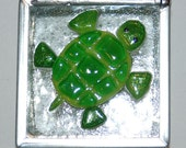 Turtle Stained Glass Trinket Box