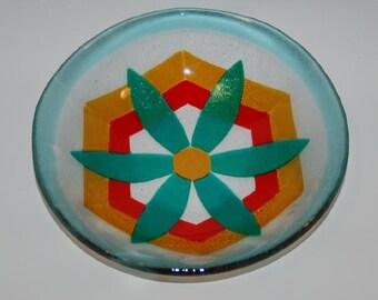 Flower Fused Bowl