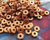 Copper Hexagon Spacers