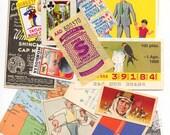 Vintage Paper Ephemera sample pack