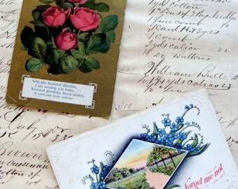 100 Year Old Victorian Postcards N011