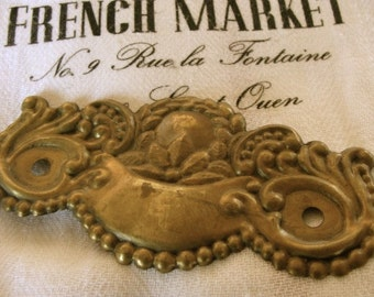 Gorgeous Ornate Antique French Ornate hardware