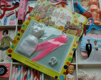 Blythe Stockings in Vintage 1960s New/Old Stock Original Package from Doll Things