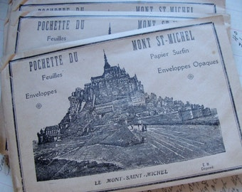Antique French Ephemera Stationery Limited Supply Last One