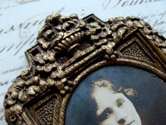 One Stunning Antique  Victorian Ornate Wooden Frame