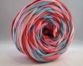 T Shirt Yarn Hand Dyed-Valentine 60 Yards