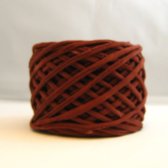 T shirt yarn hand dyed cocoa brown jersey yarn brown for T shirt printing st charles mo