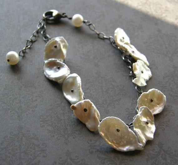 Reserved for Bonnie - Krazy Keshi Pearl Bracelet