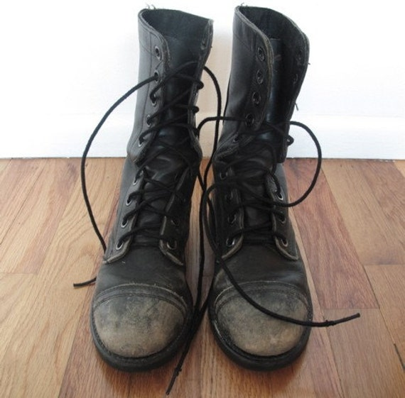 issued grunge biltrite boots 6 5 by westland on etsy