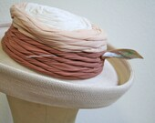 Edwardian Hat Pin / Mother of Pearl hat pin / vintage hat pin