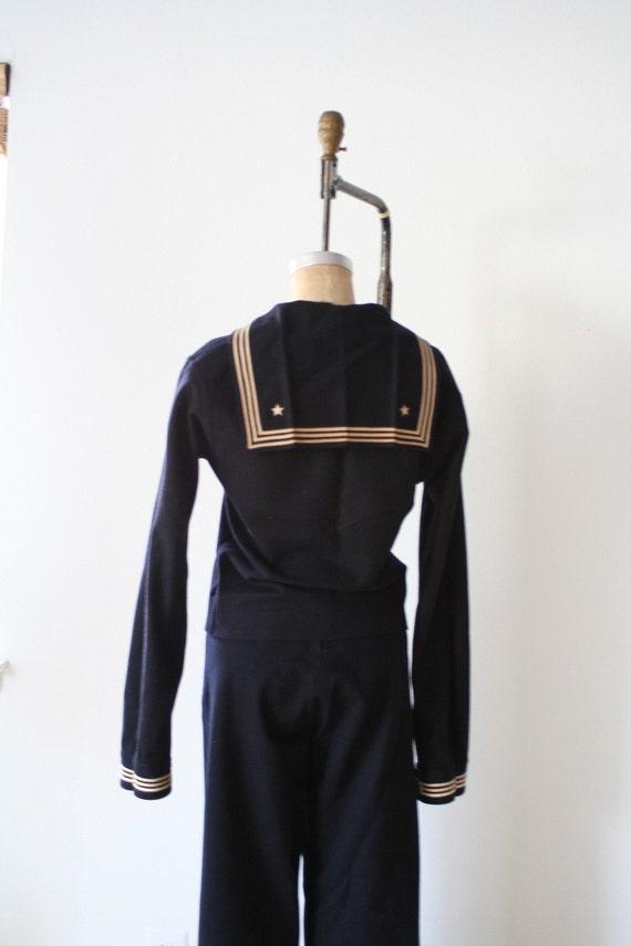vintage 1940s CRACKERJACK sailor uniform