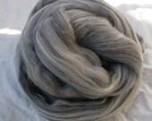 Merino Wool Roving - Grey - 3 oz.