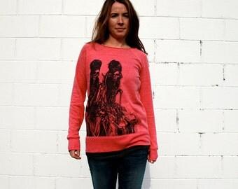 Muertos Bonitas Fashdance Sweatshirt **Please Note: This sweatshirt is now grey**