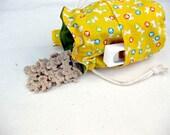Dog Training Treat Bag Yellow Bones