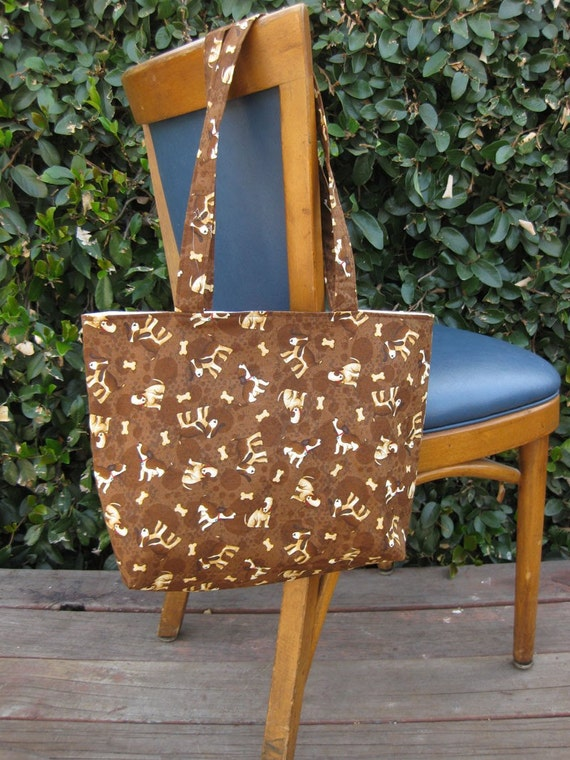 Cotton Tote Bag,Dogs,Beagles
