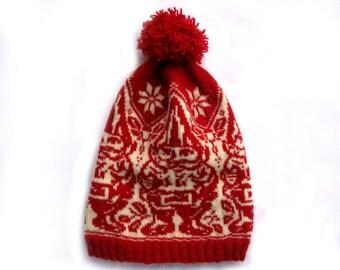 PDF Knitting Pattern- Garden Gnome Hat