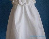 Wedding Flower girl Halter Top/Dress/Sundress in   size 4t-8y