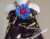 NEW Midnight Sparrows Halter Top/Dress Toddler Infant Sundress size 6m-9m, 9m-12m, 12-18m,18-24mos.,2t, or 3t