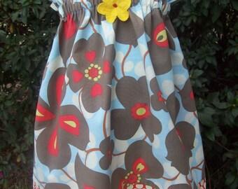 Amy Butler Lotus Halter Top\/Dress Toddler Infant Sundress size 9m-12m,18-24mos.,2t,3t