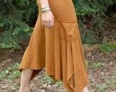 Forest Skirt/Hemp and Organic Cotton