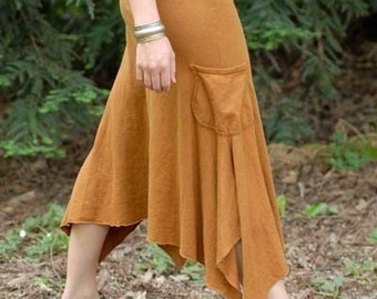 Forest Skirt/Hemp and Organic Cotton
