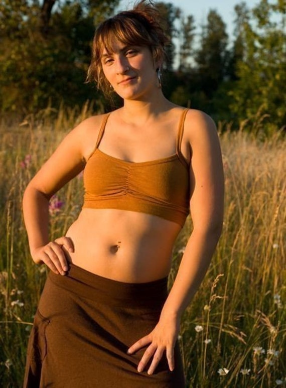 Cami Bra Three Package Deal/ Stretchy Hemp and Organic Cotton