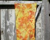 Summer Blaze  Hand Dyed Rug Hooking Wool