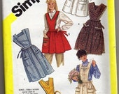 RESERVED FOR DOTTYLOGIC 6173  APRON  Pattern 1983 Size X-LARGE UNCUT