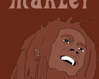 Bob Marley Mini Art Print