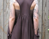 Knit Vest in Brown