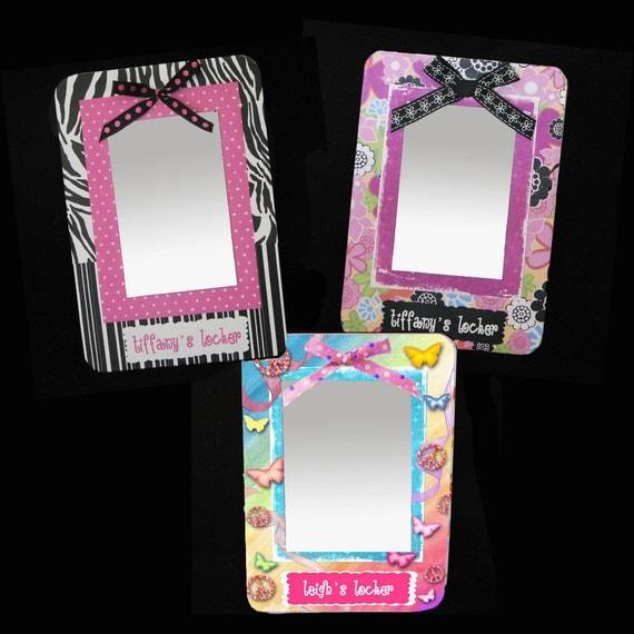 girls locker mirror magnetized