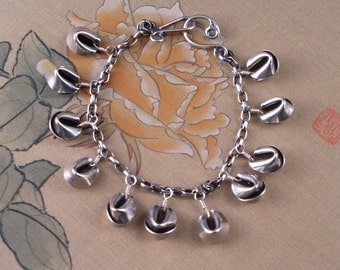 Sterling Fortune Cookie Bracelet - Wrist of Potential