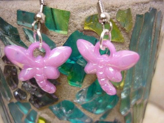 SALE Sweet Glowy Butterfly earrings for Girls