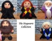 Order Any Three Harry Potter / Hogwarts Miniature Thread Dolls