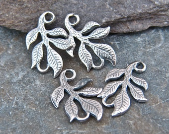 Leafy Links - Sterling Silver Connectors -  - lllopt