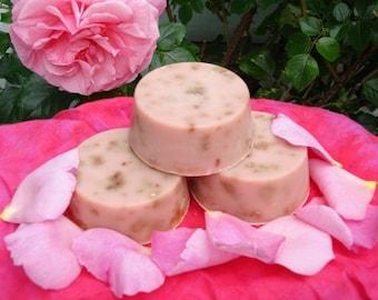 Hippie Love Soap (Patchouli Rose) (Two 3 Oz Rounds)