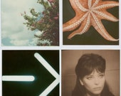The Summatime Collection - four polaroid prints, an instant art collection