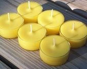 Coconut Banana Blast Scented Tea Light Candles