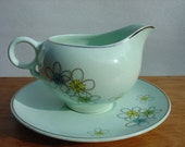 Nobility Permaware Creamer with Saucer