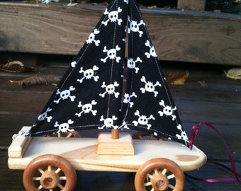 Pirate Ship Pull Toy