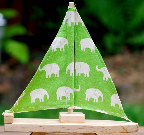 Green Elephant Sailboat