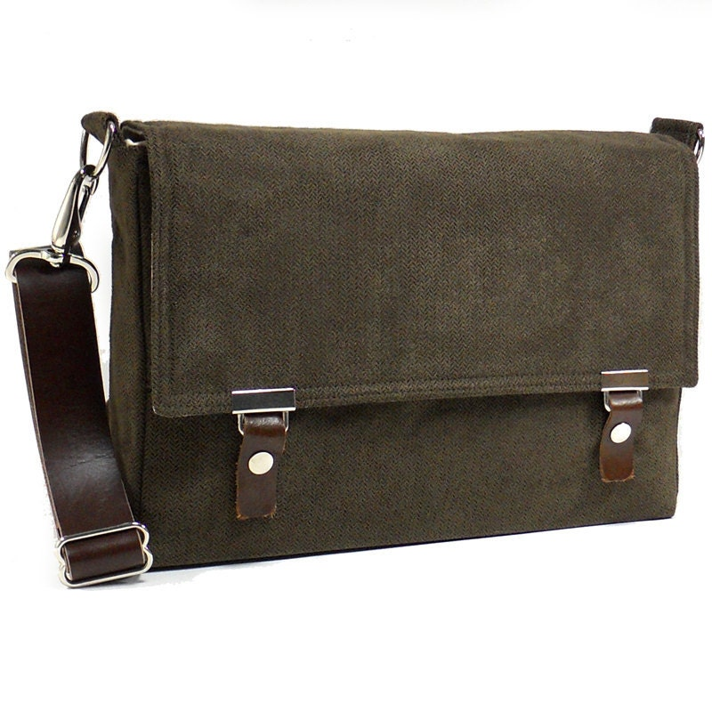 messenger bag for 13 macbook air with leather