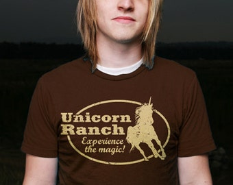 Unicorn Ranch TShirt - Mens and Ladies Small-3XL Available