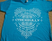 MEDIUM Lady Cyberbully V-neck