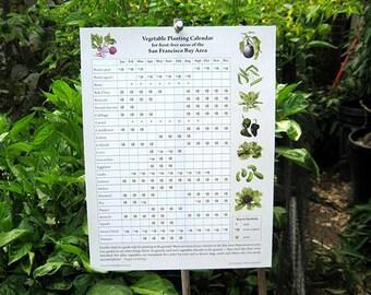 Vegetable Planting Calendar for San Francisco Bay Area